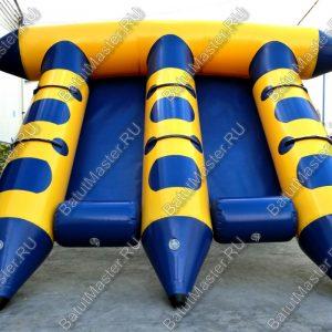 Тройной водный банан, мест для посадки 6