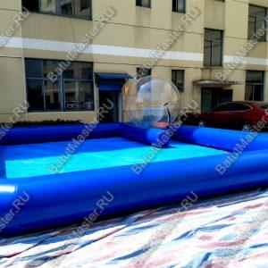 Надувной бассейн с парковкой