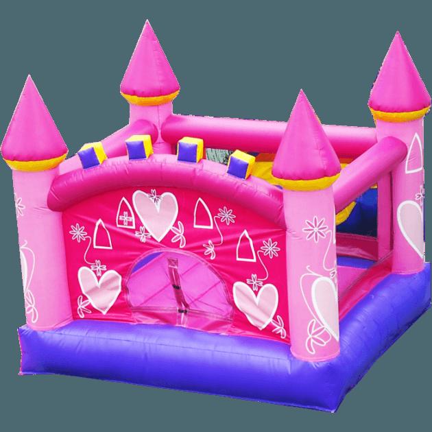 Коммерческий надувной батут «Замок сказочной принцессы»