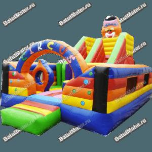 Коммерческий надувной батут «Цирковое наслаждение»