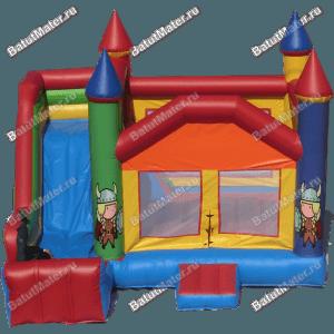 Коммерческий надувной батут «Крепость Рыцаря»