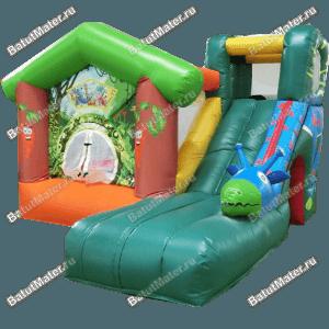 Коммерческий надувной батут «Лесной Домик»