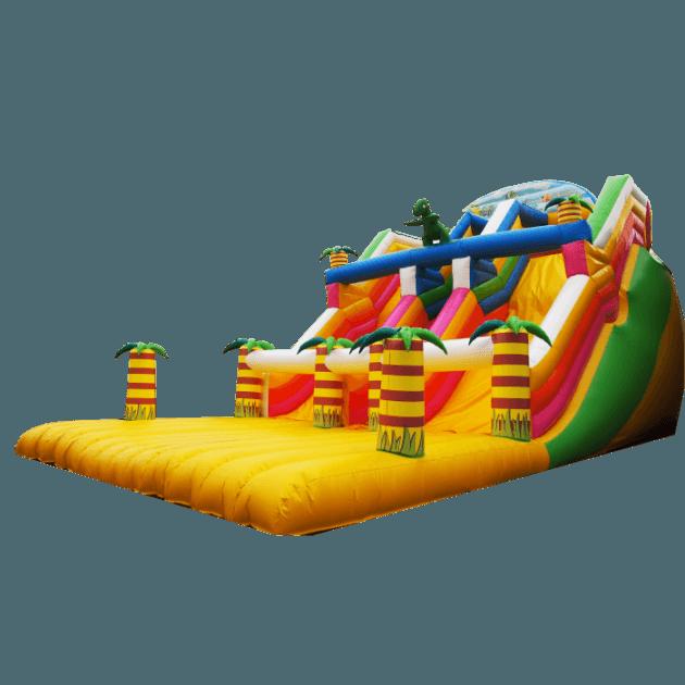 Коммерческий надувной батут «Отважный Динозавр»