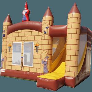 Коммерческий надувной батут «Школа волшебников»