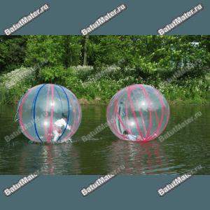 Надувные водные аттракционы от БатутМастер