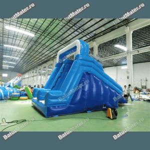 Водная надувная горка «Дельфинчики»