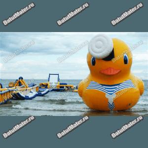 Водные надувные аттракционы от БатутМастер