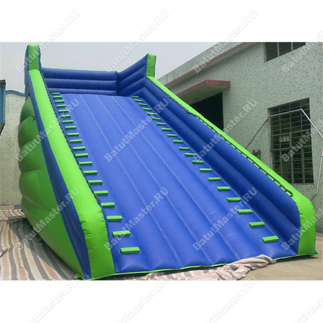 Надувная горка для зорба «Blue ramp»