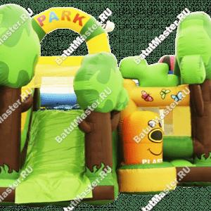 """Надувной батут """"Экологичный"""", размер 7*6*4.5 м"""