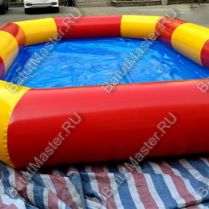 Прямоугольный надувной бассейн «Полосатик» 6*4*0.5 м