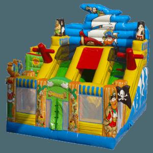 Пиратская радость надувной батут