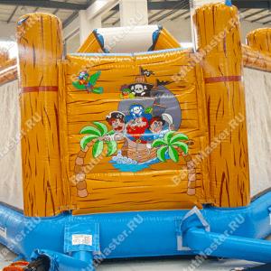 Коммерческий надувной батут «Весёлый пират»