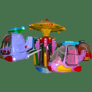 Детская карусель «Вертолетики» 4