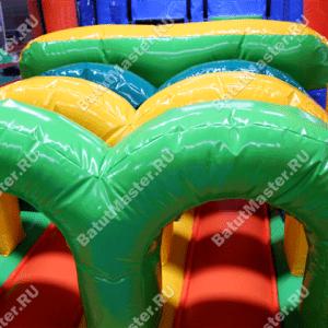 """Надувной батут """"Пальмовый оазис"""", размер 12*3*5 м"""