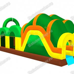 Надувная полоса препятствий «Зов джунглей»