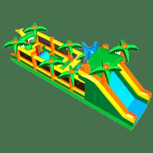 Надувная полоса препятствий «Пальмовый оазис»