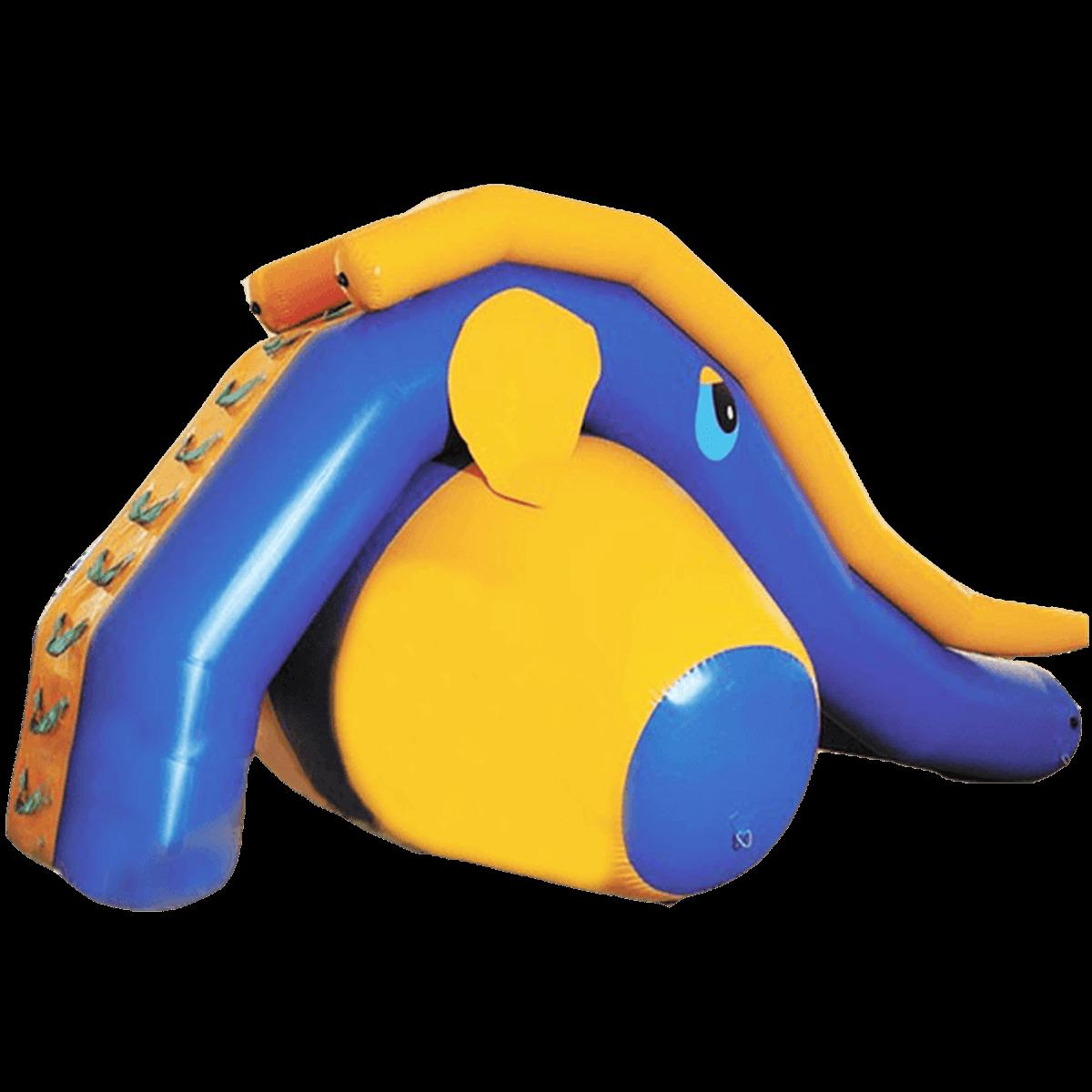 Надувная водная горка «Слонёнок»