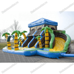 Батут с бассейном «Дворец»