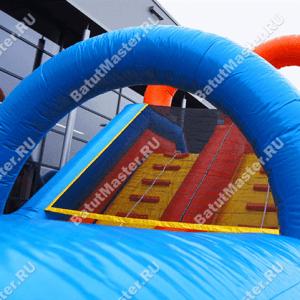 Надувная полоса препятствий Летняя забава