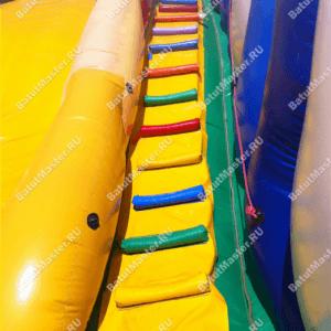 """Надувная водная горка с бассейном """"Карибы"""""""