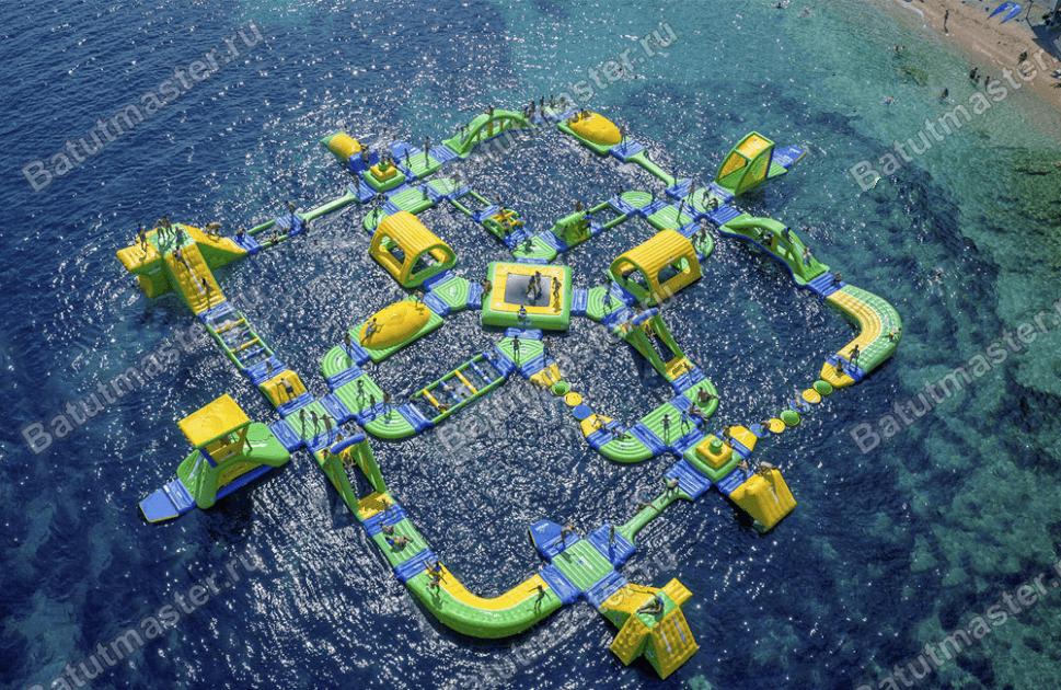 Надувной аквапарк «Аква-Лего»