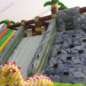 Надувной батут «Динозаврия»