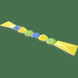 Элемент водного парка «Скользкий мост»
