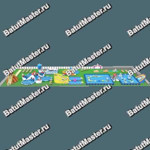 """Наземный Водный парк """"Волшебная радуга″"""
