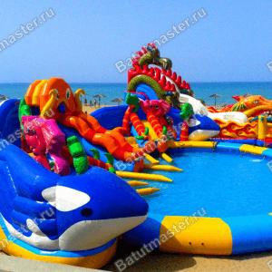 Батут с бассейном «Аквасфера»