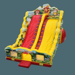 Коммерческий батут-горка «Царь зверей-2»