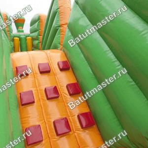 Коммерческий надувной батут «Тоннель Мишкина радость», размер 15*3.4*3.1 м