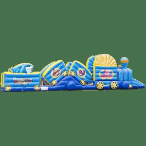 Коммерческий надувной батут «Тоннель Морское царство»