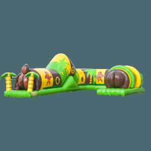Коммерческий надувной батут «Тоннель Обезьяна»