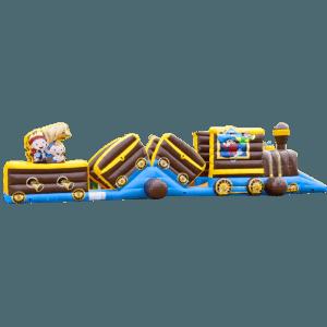 Коммерческий надувной батут «Тоннель Пират»