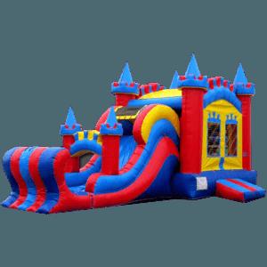 Коммерческий надувной батут «Магический замок» , размер 10*5*6 м