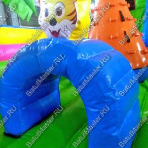 Коммерческий батут «Тигриная страна», 10х6х5 м.