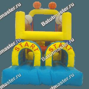 Надувной батут «Спортпарк», размер 12*3*5 м