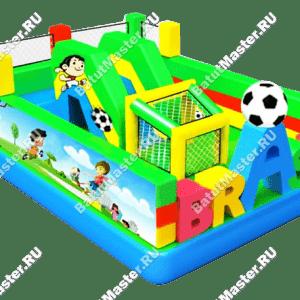 Надувной батут Футбольное поле, размер 6*4*3 м