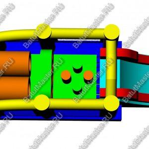 """Надувной батут """"Попрыгунчик"""", размер 6х3х2 м.Надувной батут """"Попрыгунчик"""", размер 6х3х2 м."""