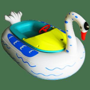 "Бамперная лодочка ""Лебедь"" 1.56*1.1*0.48 м"