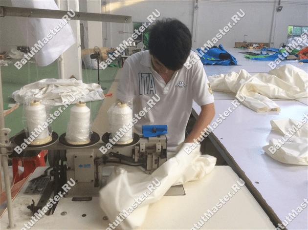Изготовление внутренних перегородок батута