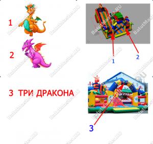 Три дракона - добавление изображений. Техническое задание