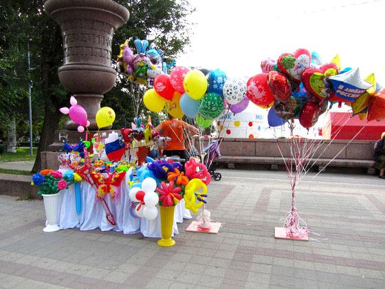 Продажа надувных шаров