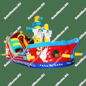 """Надувной корабль """"Веселый Роджер"""", размер 13.5*7.5*7 м"""