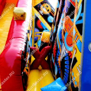 """Надувной батут """"Трансфомер"""", размер 13.5*6.5*8 м"""
