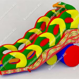 "Надувной батут ""Кобра"", размер 9*4.5*6.5 м"