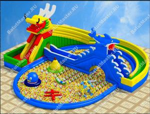 Сухой бассейн для торгового центра
