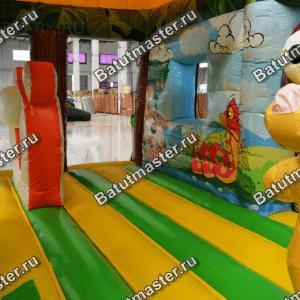 """Надувной батут """"Сафари парк 2"""", размер 8.5*7.5*5.5 м"""