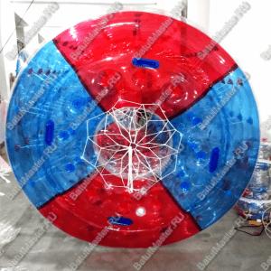 Роллер красно-синий