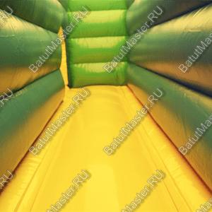 Коммерческий надувной батут «Зверята с крышей» 11*7*6 м